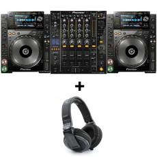 [렌탈] CDJ-2000 NXS + DJM-900 NXS 세트